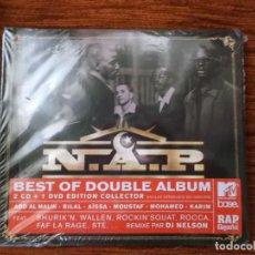 CDs de Música: N.A.P. BEST OF DOUBLE ALBUM 2008 PRECINTADO. Lote 83137728