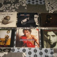 CDs de Música: LOTE 6 CD + DVD SABINA ALIVIO DE LUTO RULETA RUSA JUEZ Y PARTE MENTIRAS PIADOSAS DIMELO EN LA CALLE. Lote 83143256