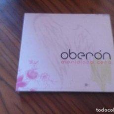 CDs de Música: OBERÓN. MERIDIANO CERO. CD DIGIPACK EN BUEN ESTADO. CON 11 TEMAS. ALGO RARO. Lote 83147928