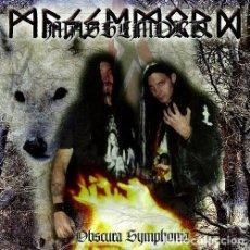 CDs de Música: R1 - MASSEMORD. OBSCURA SYMPHONIA. HEAVY. BLACK. METAL. CD.. Lote 83152024