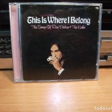 CDs de Música: THE KINKS & RAY DAVIES - TRIBUTE THIS IS WERE I BELONG CD USA 2002 PDELUXE. Lote 83155696