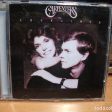 CDs de Música: CARPENTERS LOVELINES CD USA 1989 PDELUXE. Lote 83333620