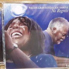 CDs de Música: RANDY CRAWFORD & JOE SAMPLE. NO REGRETS. CD / PRA RECORDS-2008. 12 TEMAS / CALIDAD LUJO.. Lote 83408760
