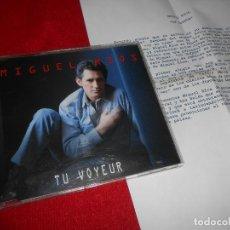 CDs de Música: MIGUEL RIOS TU VOYEUR CD SINGLE 1996 PROMO + HOJA PROMO. Lote 83412956