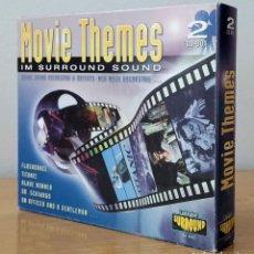 CDs de Música: MOVIE THEMES IM SURROUND SOUND. MÚSICA DE CINE (VARIOS INTERPRETES) 2 CDS. Lote 83416384
