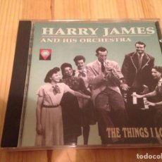 CDs de Música: HARRY JAMES -THE THINGS I LOVE-JAZZ. Lote 83490636