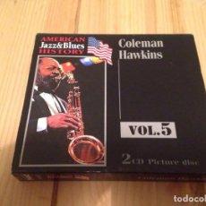 CDs de Música: COLEMAN HAWKINS-JAZZ DOBLE CD. Lote 83490704