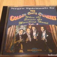 CDs de Música: GOLDEN GATE QUARTET-NEGRO SPIRITUALS-. Lote 83493040
