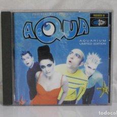 CDs de Música: AQUA: AQUARIUM EDITION LIMITED *** CD MUSICA INTERNACIONAL. Lote 83501656