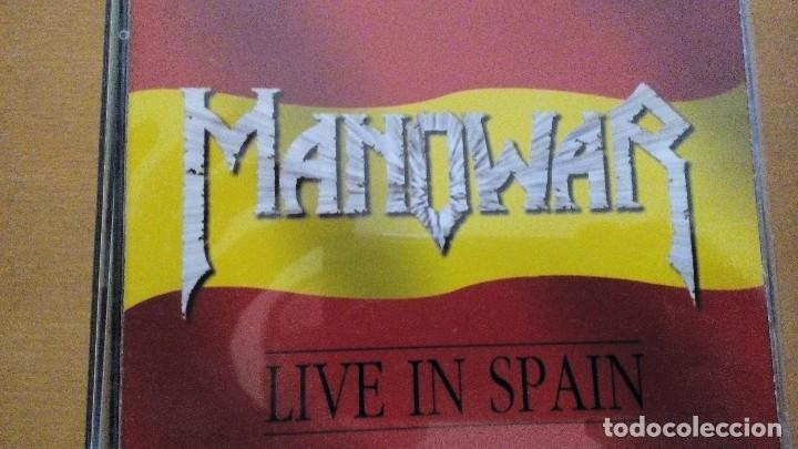 MANOWAR LIVE IN SPAIN CD EP LIMITED EDITION (Música - CD's Heavy Metal)