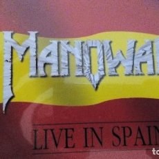 CDs de Música: MANOWAR LIVE IN SPAIN CD EP LIMITED EDITION. Lote 83518424