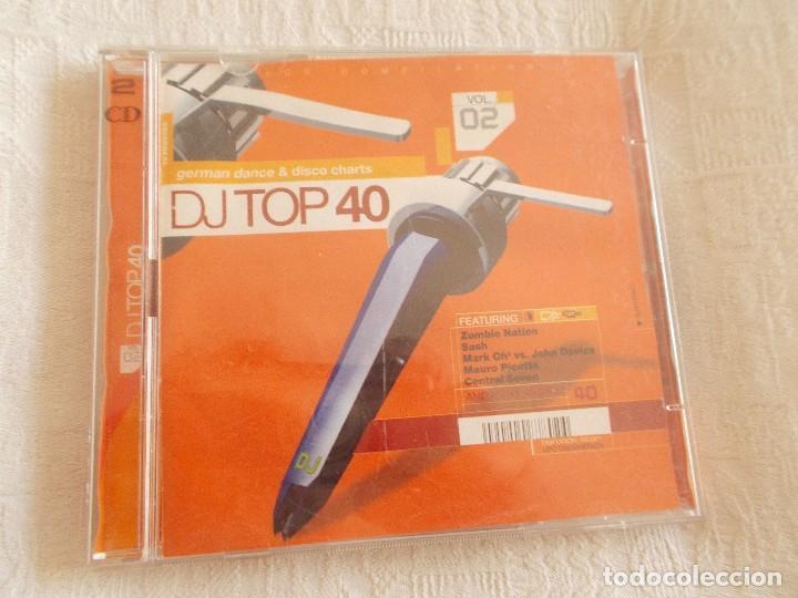 DJ TOP 40 GERMAN DANCE & DISCO CHARTS 2 CD'S (Música - CD's Techno)
