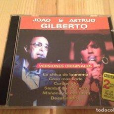 CDs de Música - JOAO Y ASTRUD GILBERTO-Bossa nova jazz - 83543692