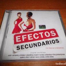 CDs de Música: EFECTOS SECUNDARIOS BANDA SONORA CD ALBUM 2005 MEXICO DUO AMARAL & CHETES SI TU NO VUELVES BOSE. Lote 83600784