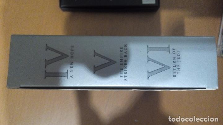 CDs de Música: STAR WARS TRILOGY EPISODIOS IV V VI TRES CDS DOBLES ESTUCHE CARATULAS TRIDIMENSIONALES - Foto 2 - 83609836