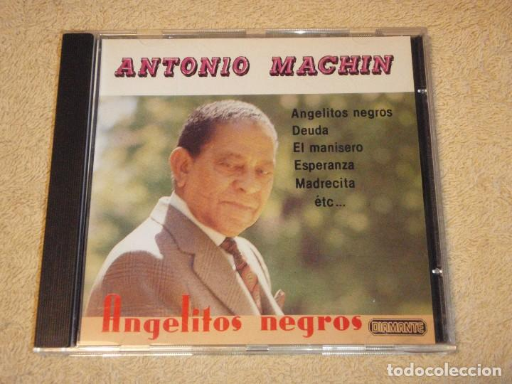 CDs de Música: ANTONIO MACHIN ( ANGELITOS NEGROS ) 1990-SPAIN CD - Foto 1 - 83643876