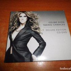 CDs de Música: CELINE DION TAKING CHANCES CD + DVD DIGIPACK DELUXE EDITION CONTIENE CD 16 TEMAS + DVD . Lote 83658200