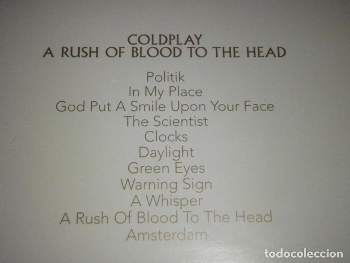 CDs de Música: COLDPLAY ( A RUSH OF BLOOD TO THE HEAD ) 2002-EU CD - Foto 2 - 83661692