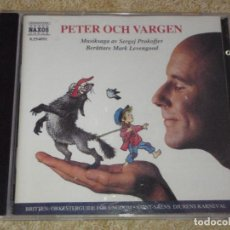 CDs de Música: PETER OCH VARGEN 1996-SWEDEN CD. Lote 83665672