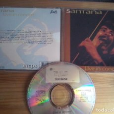 CDs de Música: MUSICA CD: SANTANA - LIVE IN CONCERT (ABLN). Lote 83681572