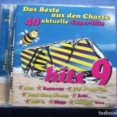 CDs de Música: CD DOBLE TODO VERSIONES ORIGINALES POLYDOR VIRGIN , EMI ...40 SUPER HITS 9 COMO NUEVO¡¡ PEPETO. Lote 83749396