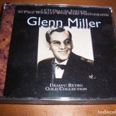 CDs de Música: PACK DE 2 CDS DE GLENN MILLER. DEJAVU RETRO GOLD COLLECTION. EDICION DE 2001. COMO NUEVOS.. Lote 83758344