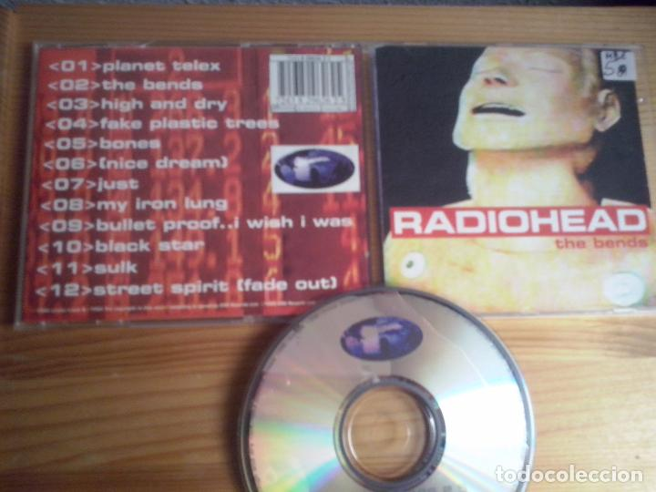 cd radiohead the bends