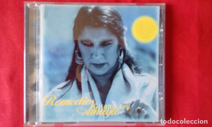 CD ORIGINAL GITANA SOY, REMEDIOS AMAYA, EMI ODEON 2000, 10 TEMAS (Música - CD's Flamenco, Canción española y Cuplé)