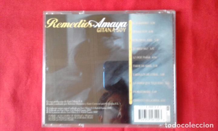 CDs de Música: CD ORIGINAL GITANA SOY, REMEDIOS AMAYA, EMI ODEON 2000, 10 TEMAS - Foto 2 - 83811092