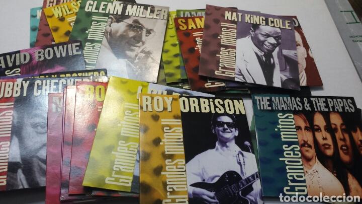 LOTE 31 CD GRANDES MITOS DE LA MUSICA AÑO 2000 ORIGINALES (Música - CD's Otros Estilos)
