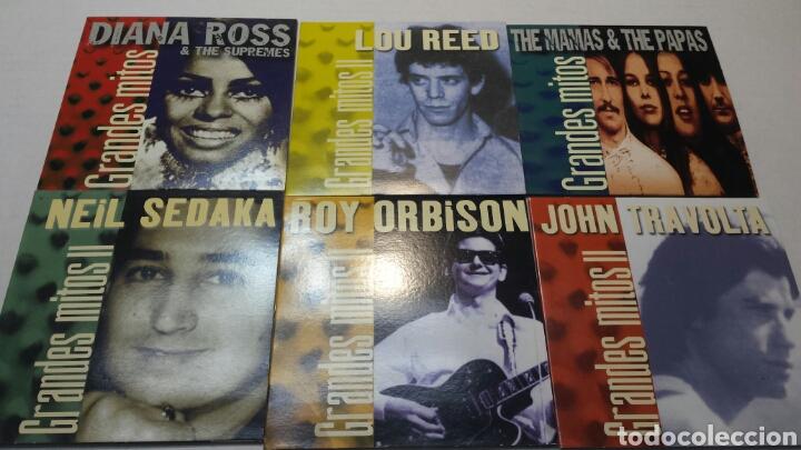 CDs de Música: Lote 31 CD Grandes mitos de la Musica año 2000 Originales - Foto 2 - 83816023