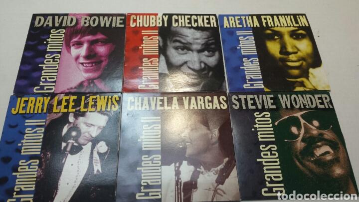 CDs de Música: Lote 31 CD Grandes mitos de la Musica año 2000 Originales - Foto 4 - 83816023