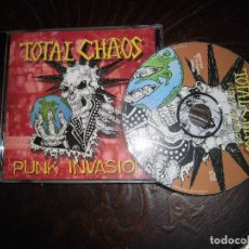 CDs de Música: TOTAL CHAOS- PUNK INVASION. Lote 83833496