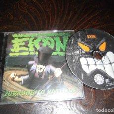 CDs de Música: EKON-ZURRUNBILO KAOTIKOA. Lote 83834288