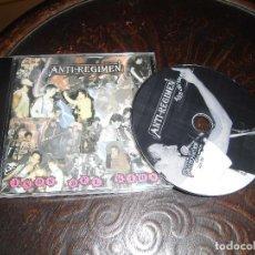 CDs de Música: ANTI-REGIMEN- LOS AÑPS DEL KAOS. Lote 83834716
