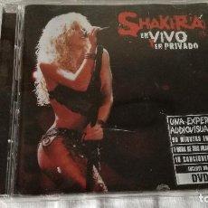 CDs de Música: 4-CD SHAKIRA- EN VIVO Y EN PRIVADO- CD + DVD. Lote 83864696