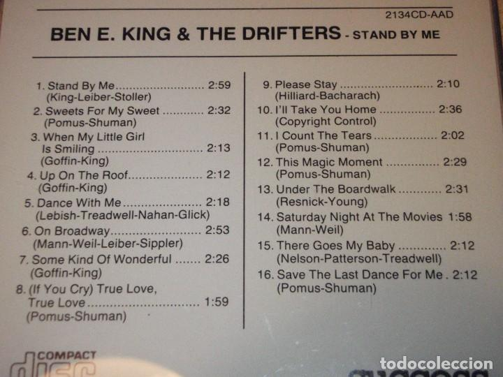 CDs de Música: BEN E. KING & THE DRIFTERS ( STAND BY ME ) EEC CD - Foto 2 - 83914188
