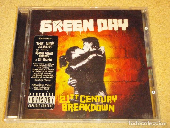 GREEN DAY ''21ST CENTURY BREAKDOWN'' 2009-USA CD (Música - CD's New age)