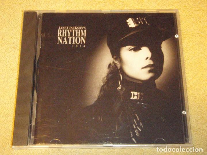 JANET JACKSON'S ( RHYTHM NATION 1814 ) 1989-GERMANY CD (Música - CD's Disco y Dance)