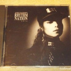 CDs de Música: JANET JACKSON'S ( RHYTHM NATION 1814 ) 1989-GERMANY CD. Lote 83917580