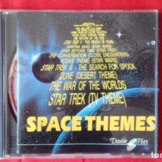 CDs de Música: CD SPACE THEMES, 18 T CIENCIA FICCION, DOUBLE PLAY. STAR WARS, E.T., STAR TREK, FLASH GORDON, DUNE. Lote 83919216