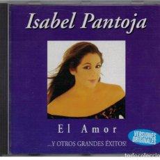 CDs de Música: ISABEL PANTOJA-CD EL AMOR. Lote 83927372