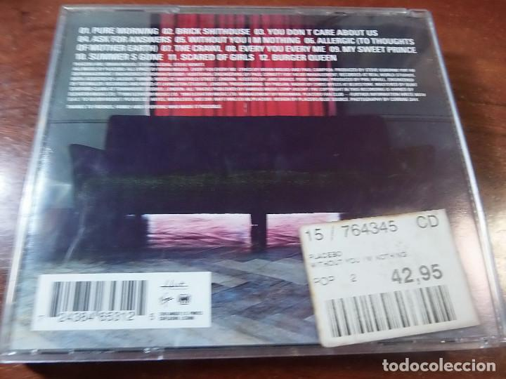 CDs de Música: PLACEBO WITHOUT YOU I M NOTHING - Foto 2 - 83983492