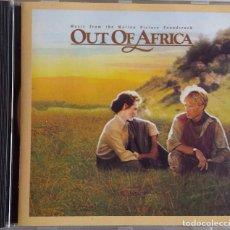 CDs de Música: MEMORIAS DE AFRICA. OUT OF AFRICA. JOHN BARRY. CD BANDA SONORA . Lote 84008076