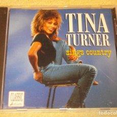 CDs de Música: TINA TURNER (SINGS CONTRY ) EEC CD. Lote 84018616