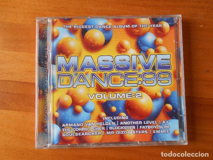 CD MASSIVE DANCE 99 - VOLUME 2 (2 CD) (1F) (Música - CD's Disco y Dance)