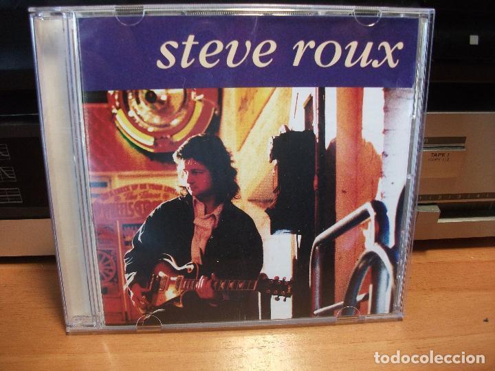 STEVE ROUX STEVE ROUX CD HOLANDA 1993 PDELUXE (Música - CD's Jazz, Blues, Soul y Gospel)