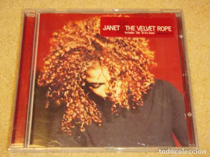 JANET ( THE VELVET ROPE ) 1997-HOLANDA CD (Música - CD's Disco y Dance)