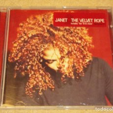 CDs de Música: JANET ( THE VELVET ROPE ) 1997-HOLANDA CD. Lote 84100308