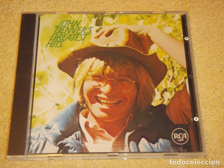 JOHN DENVER ( JOHN DENVER'S GREATEST HITS ) GERMANY CD (Música - CD's Country y Folk)